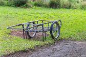 Two wheels handcart — Stock Photo