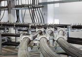 High voltage wireway in building — Stock fotografie