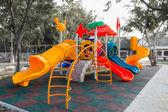 Colorido patio — Foto de Stock