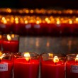 Allusions Red Candles — Stock Photo