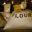 Stock Photo: Bag of flour