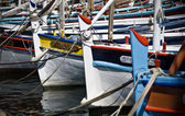 Colourful boats — Stock Photo