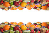Composicion of fruits — Stock Photo
