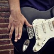 Electric guitar — Stock Photo #27632553