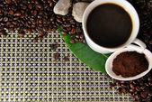 A cup of coffee — Stock Photo