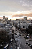 General view of the city of Madrid in Spain — Stock Photo