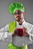 Chef trabajando — Foto de Stock