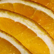 The orange segments — Stock Photo