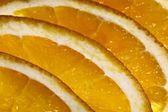 The orange segments — Stock Photo