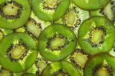 Slices of Kiwi Fruit — Stock Photo