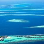Atolls of Maldives — Stock Photo #21807943