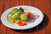 Salada de legumes — Foto Stock