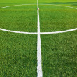 Central part of a soccer field — Stock Photo
