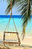 Beach hammock — Stock Photo