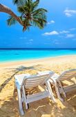 Beach for relax — Stock Photo