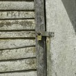 Lock on a door — Stock Photo