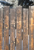 Clôture en bois — Photo