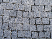 Grey square stones — Stock Photo