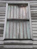 木制的百叶窗 — 图库照片