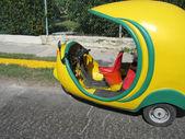 Cuban taxi — Stok fotoğraf