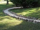 Kamenná cesta — Stock fotografie