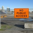 No public access — Stock Photo