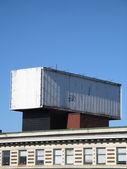 Empty giant billboard — Stock Photo