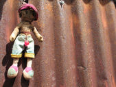 Hanging doll — Stock Photo