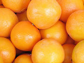 Closeup of oranges — Stock Photo