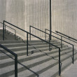 Stock Photo: Concrete steps and iron railings