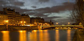 View or Paris in night — Stock Photo