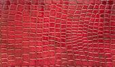 Red crocodile skin texture — Stock Photo
