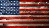 Grunge american flag — Stockfoto