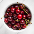 Bowl of cherries — Stock Photo #27510589