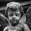 Graveyard angel statue — Stock Photo #32256827