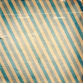Vintage blue diagonal striped paper background — Stock Photo