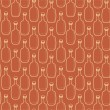 Stock Vector: Seamless vector alcohol bottles pattern on brown