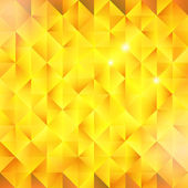 Abstract golden triangular vector background — 图库矢量图片