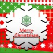 Christmas Greeting Card — Vettoriale Stock #28578027