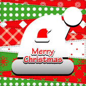 Christmas Greeting Card — Stockvektor