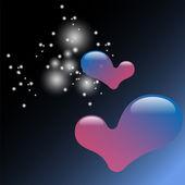 Valentine heart illustration — Stock Vector
