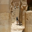 Mortuary Temple of Hatshepsut, near the Valley of the Kings, in Luxor, Egypt. — Stock Photo #33639547