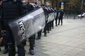 Police and Pride in Belgade — Stock Photo