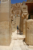 Mortuary Temple of Hatshepsut, near the Valley of the Kings, in Luxor, Egypt. — Stock Photo