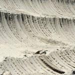 yakın çekim bakır maden açık kuyu kazı — Stok fotoğraf