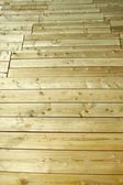 Wooden panels like a floor — Stock Photo