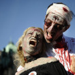 Zombie Day of walking dead — Stock Photo