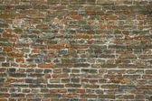 Old brick wall in a background image — Stock Photo