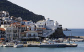 Skopelos Town one of the Sporades Islands — Stock Photo