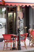 French style cafe — Stock Photo